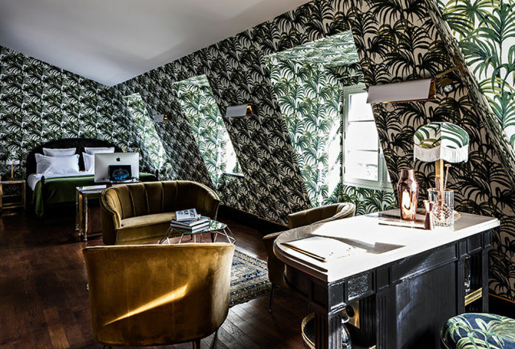 Hotel Providence i Paris har maximalistiska och instagram-vänliga inredningar