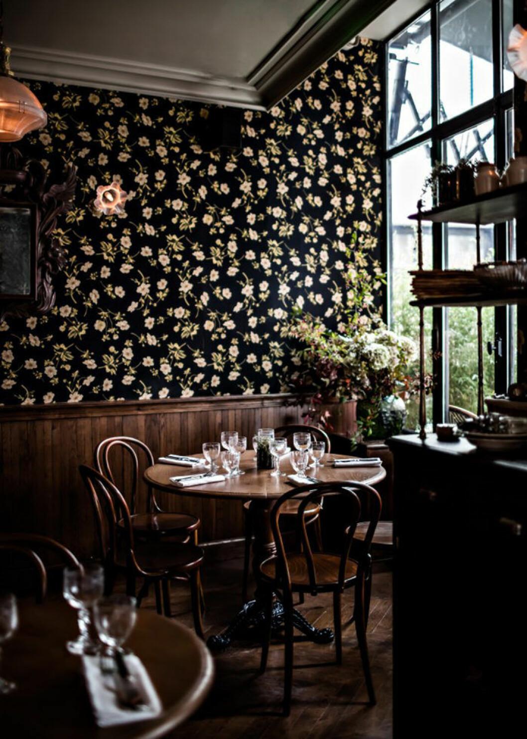 Restaurangen på Hotel Providence i Paris
