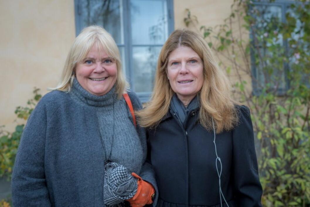 Hermine Coyet Ohlén med väninna.