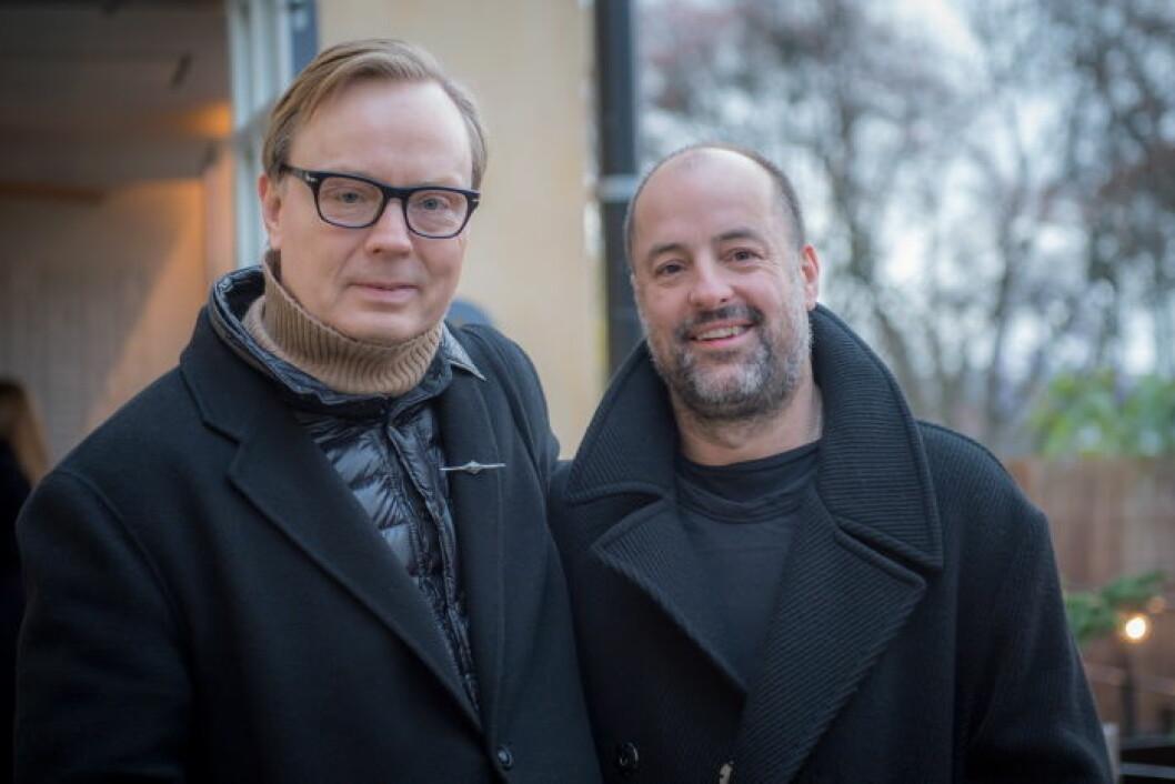 Robert Nordberg och Erik Broms.
