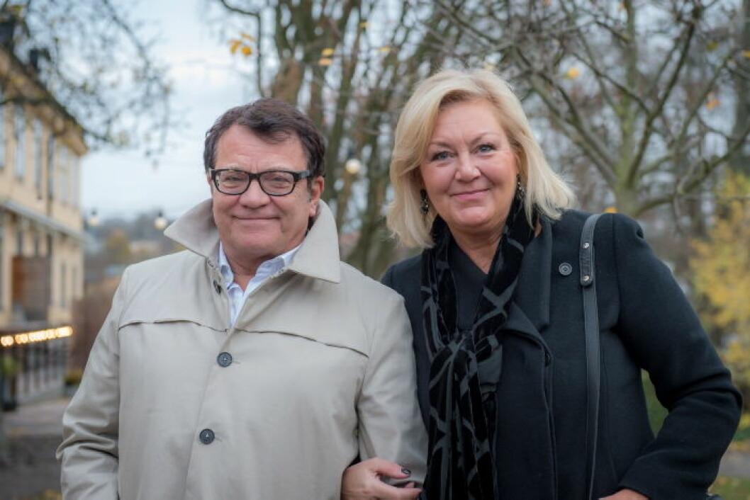 Yvonne och Mats Sörensen Björud.
