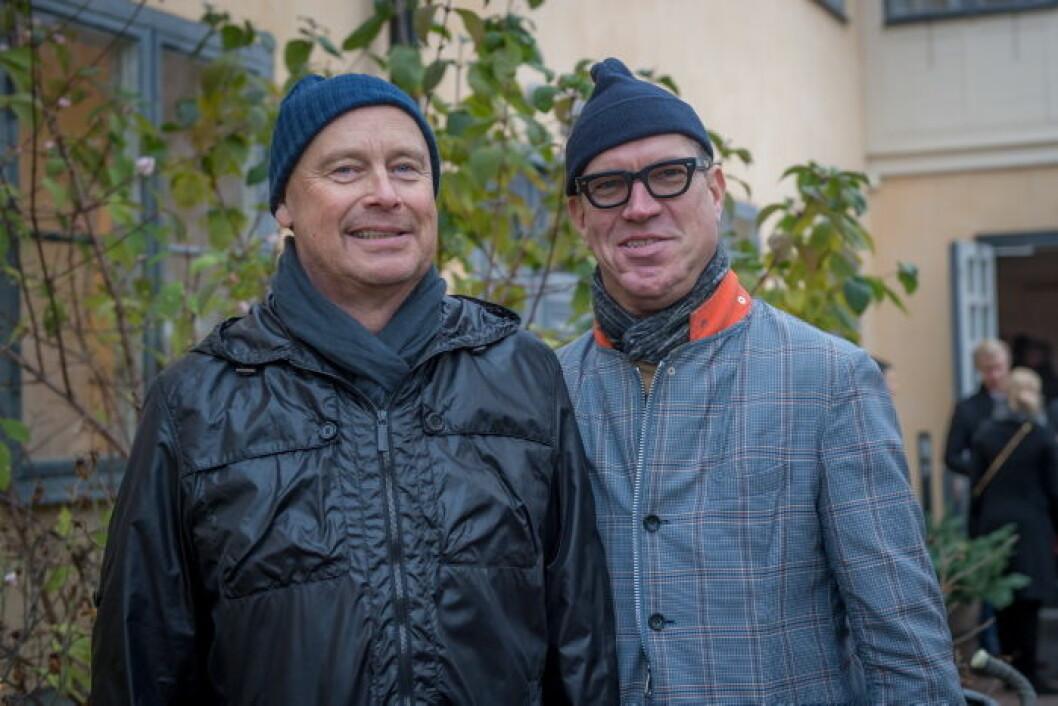 Göran Ahlsén och Magnus Erland.