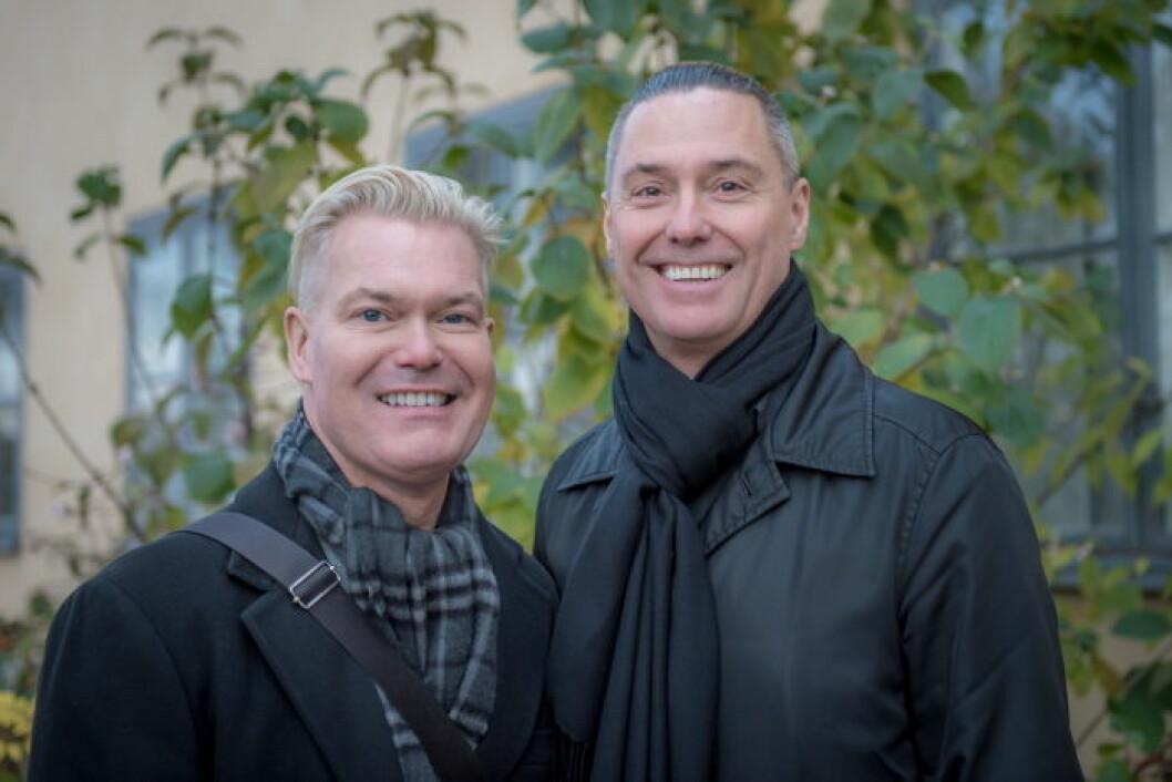 Ted Hesselbom och Peppe Bergström.