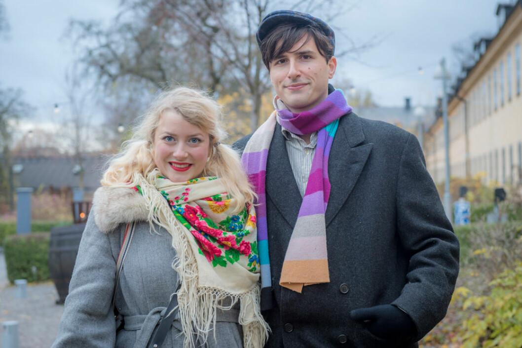 Elsa Billgren och Pontus De Wolfe.