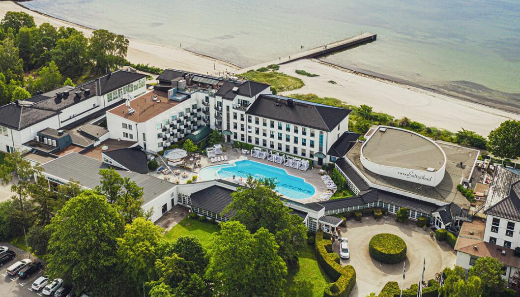 Ystad saltsjöbad är ett av många hotell med jacuzzi på rummet