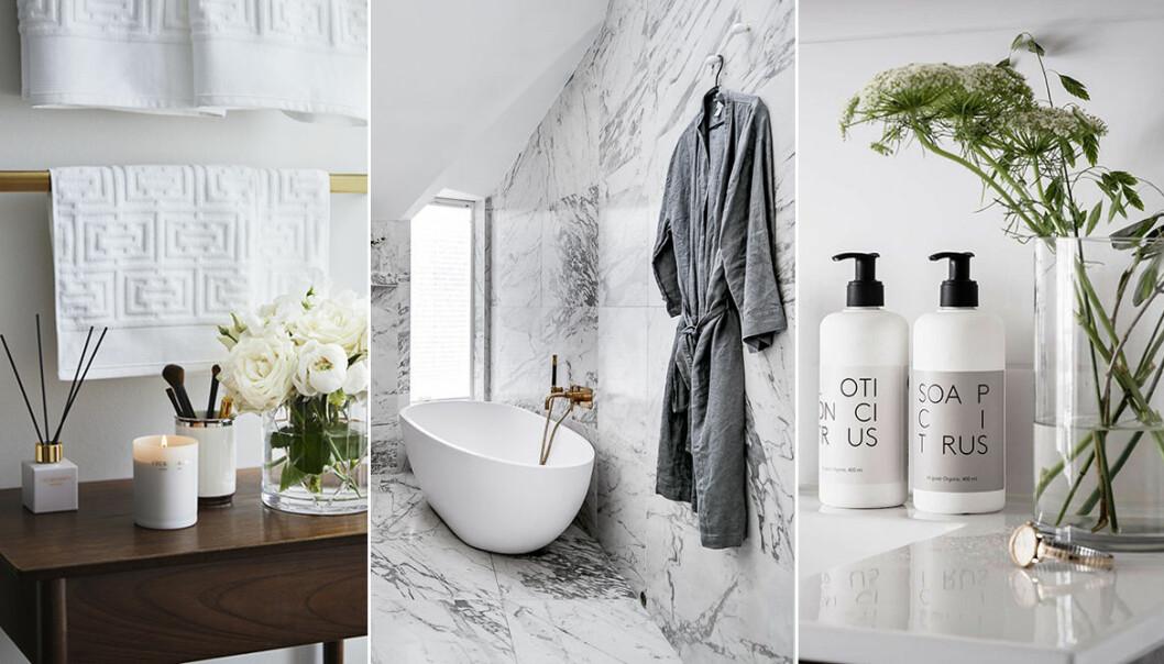 Skapa hotellkänsla i badrummet – stilen flest svenskar vill ha i sitt badrum