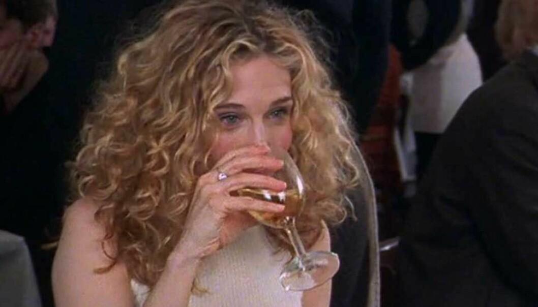 Detta är tecken på att alkoholen har påverkat din hy.