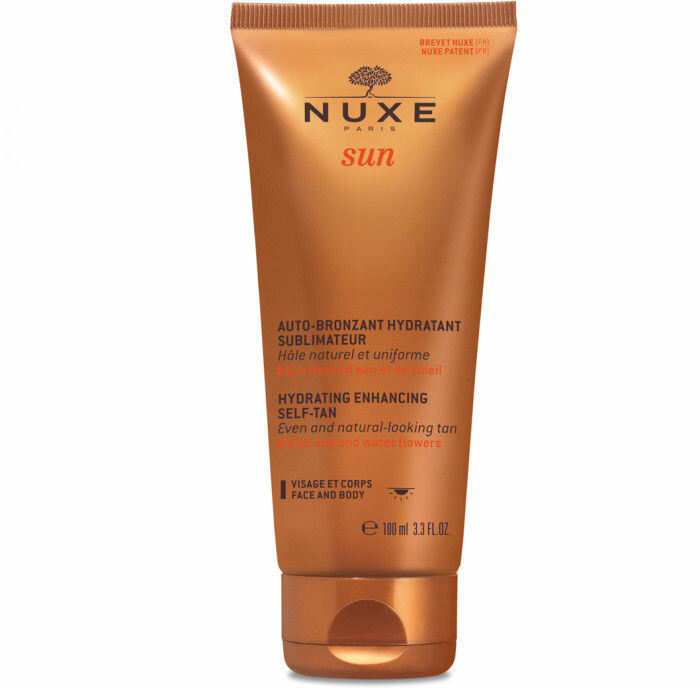 HYDRATING ENHANCING SELF TAN FACE&BODY, NUXE brun utan sol ansikte