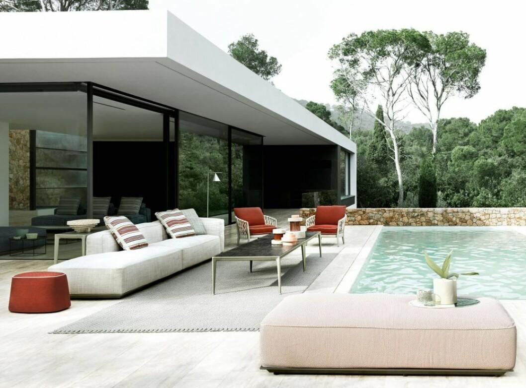Möbelgruppen Hybrid från B&B Italia. Foto: Tommaso Sartori.
