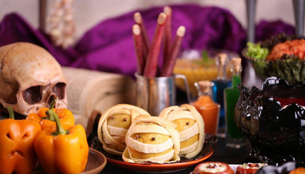 Hälsosamma alternativ till halloween-godis.