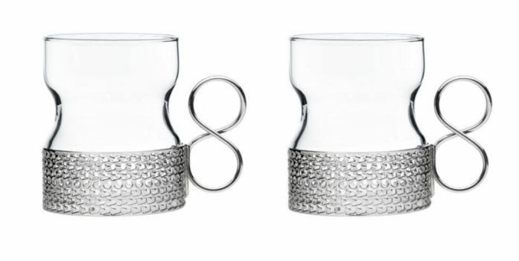 Iittalas glas Tsaikka har uppgraderats med ett skydd som gör att du kan dricka varm glögg ur dem.