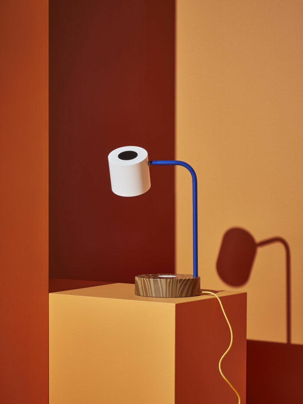 Lampa i design av konstnären Craig Redman och Colettes kreativa chef Sarah Andelman