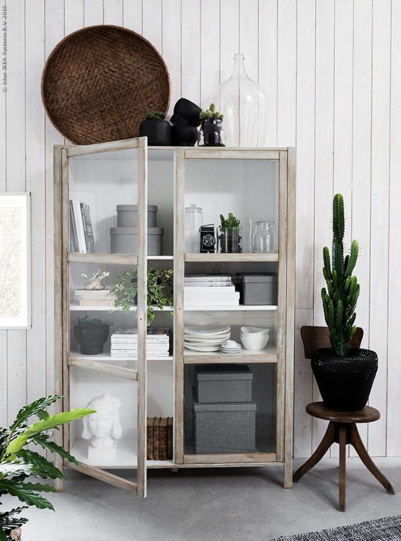 DIY: Gör ditt eget vintageskåp med det här enkla Ikeahacket