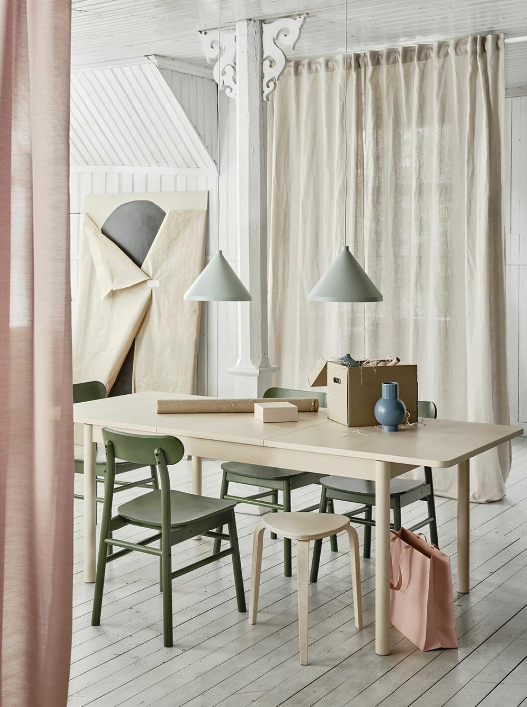 Ikeas nya köksbord Rönninge är ett förlängningsbart bord