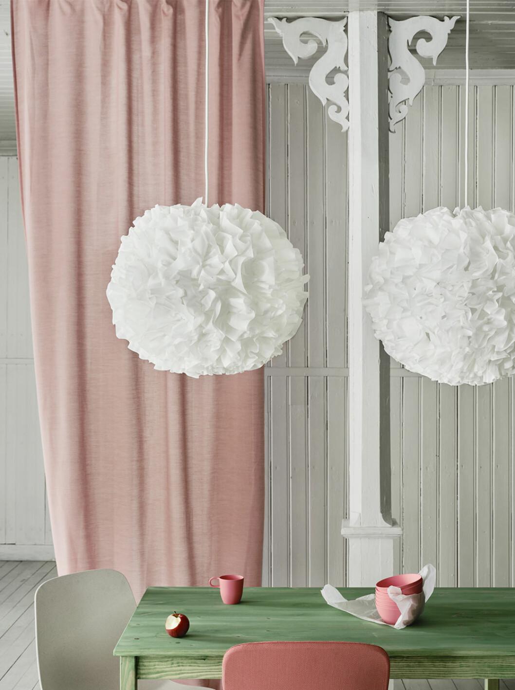 Lampan Vindkast från Ikea hösten 2020