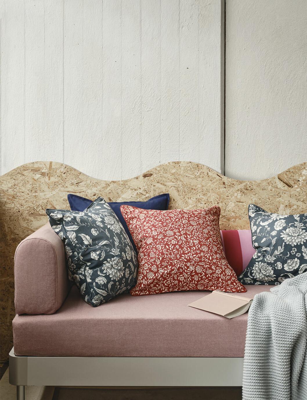 Kuddarna Evalouise och Idalinnea från Ikea