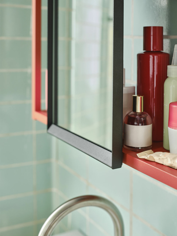 Spegel på Enhet-modul i badrum