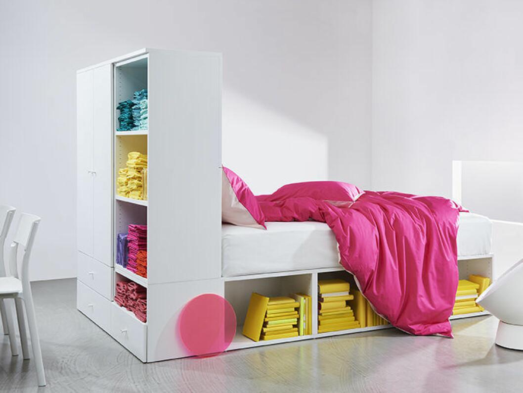 Compact living-säng med förvaring från Ikea, hösten 2019