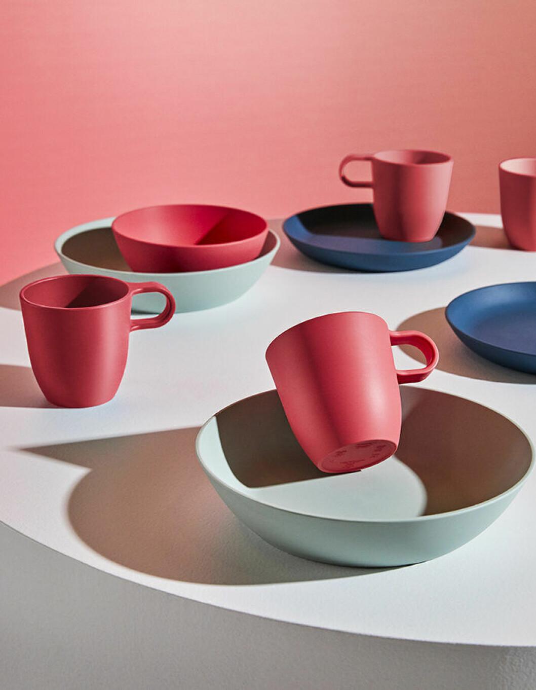 Tallrikar och kaffekoppar från Ikea hösten 2019