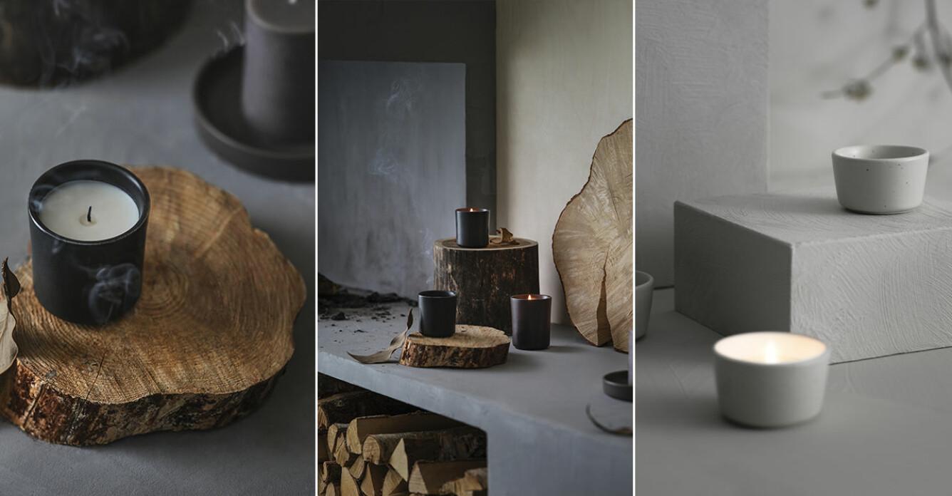 Nu släpps nya samarbetet mellan Ikea och Ilse Crawford doftljus och ljusfat