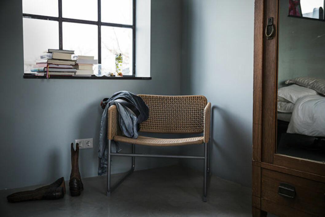 Ikeas kollektion Industriell, stol