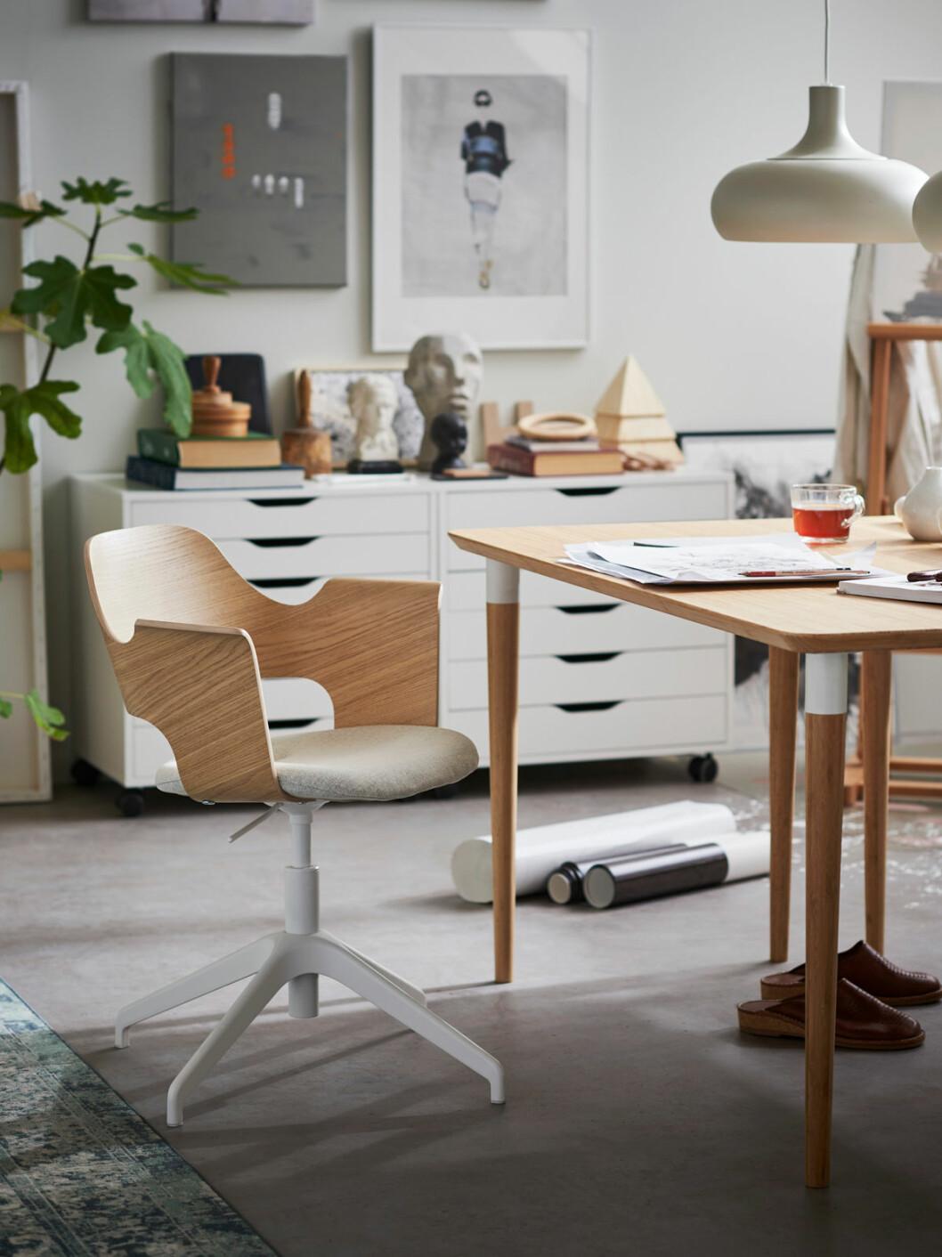 Inredningsnyhet ikea skrivbordsstol