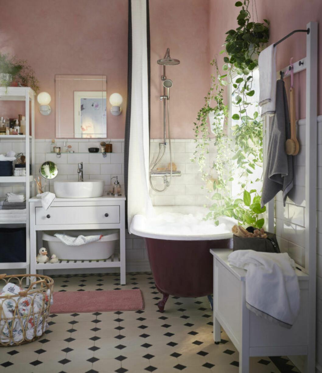 Smart förvaring i badrummet