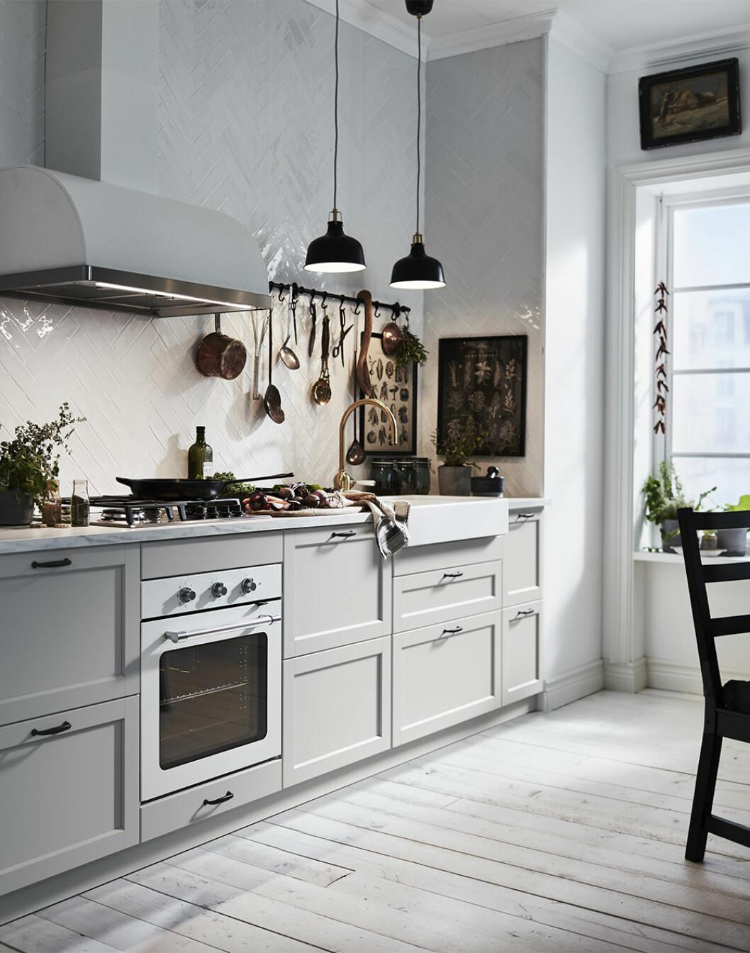 Snyggt kök från Ikea våren 2020