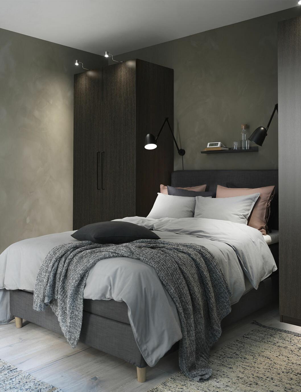 Vilsamt sovrum från Ikea-katalogen 2020
