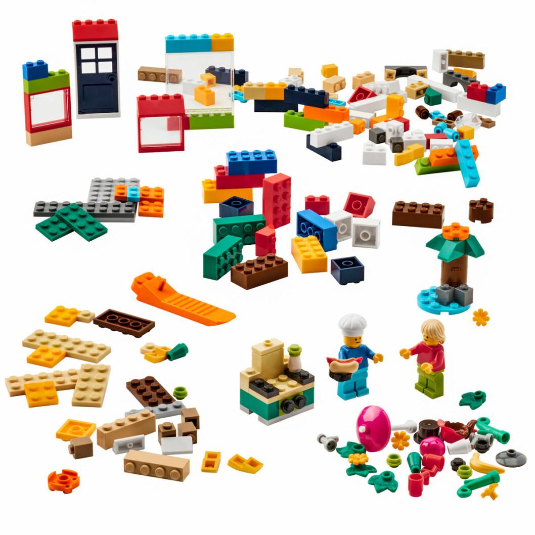 Ikea Lego samarbete bygglek klossar