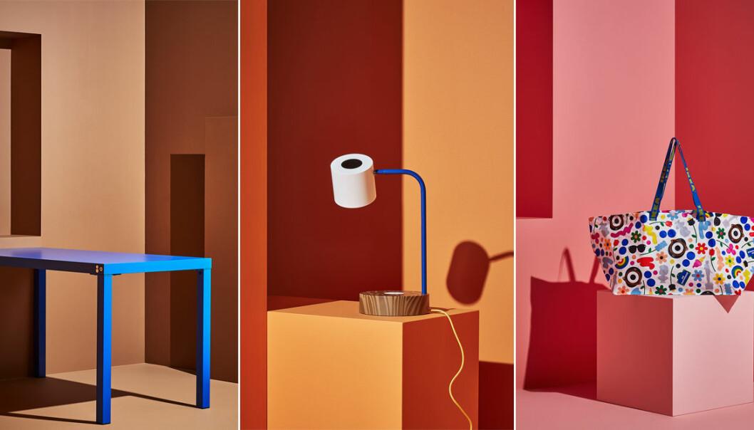 Ikea släpper limiterad kollektion i deisgnsamarbete med modeprofiler