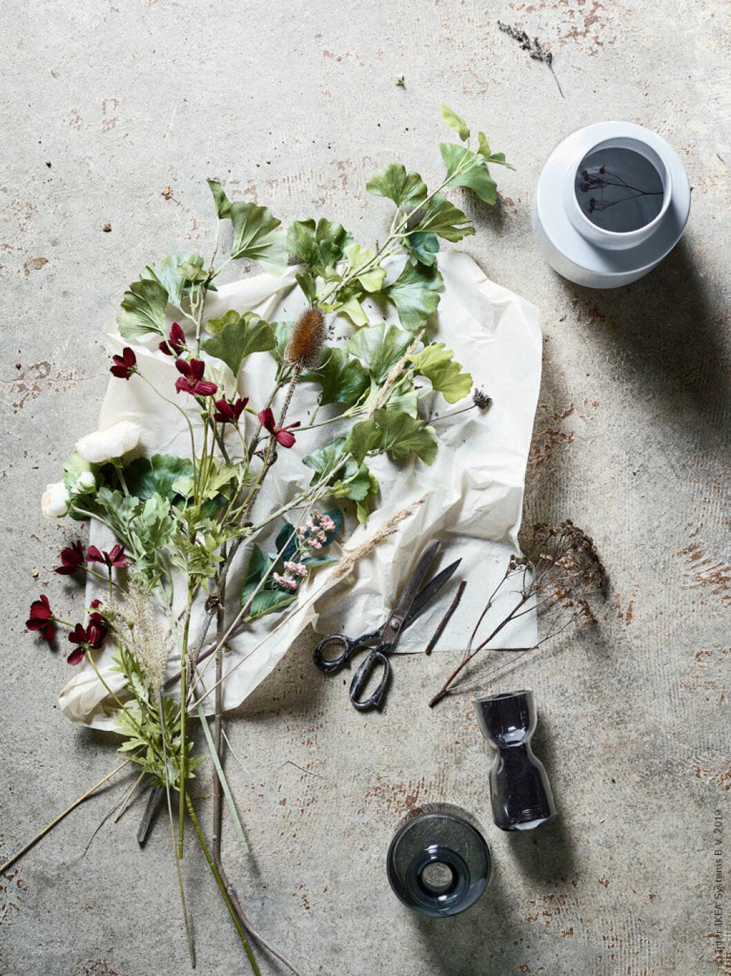 Vissnande växter kan också vara vackra, lär vi oss av Ikebana