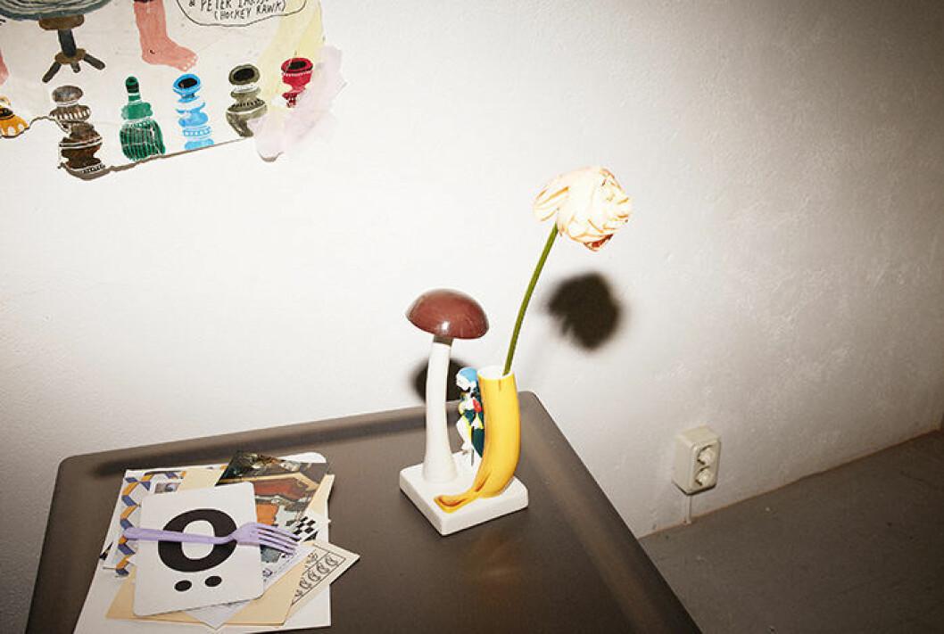 En vas i form av en banan från Ikeas nya kollektion.