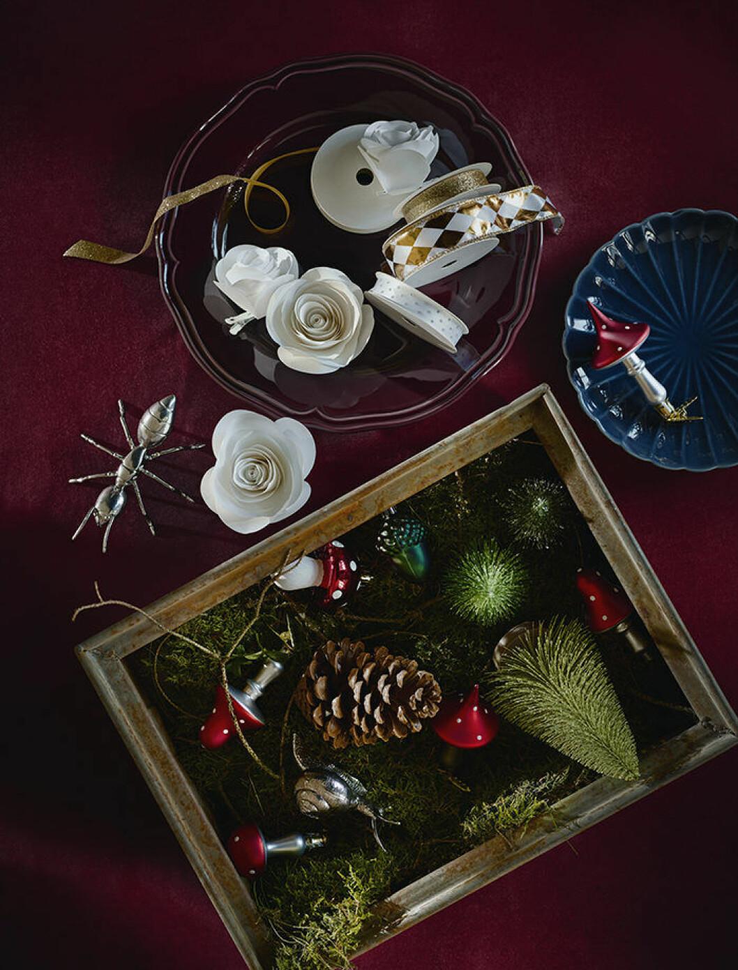 Juldekorationer från Ikea