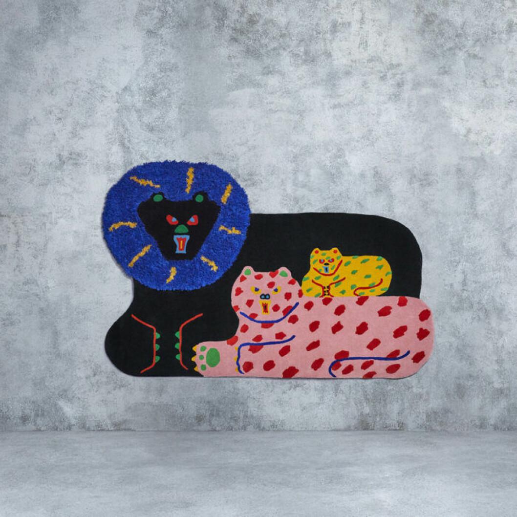 Matta av Misaki Kawai för Ikea
