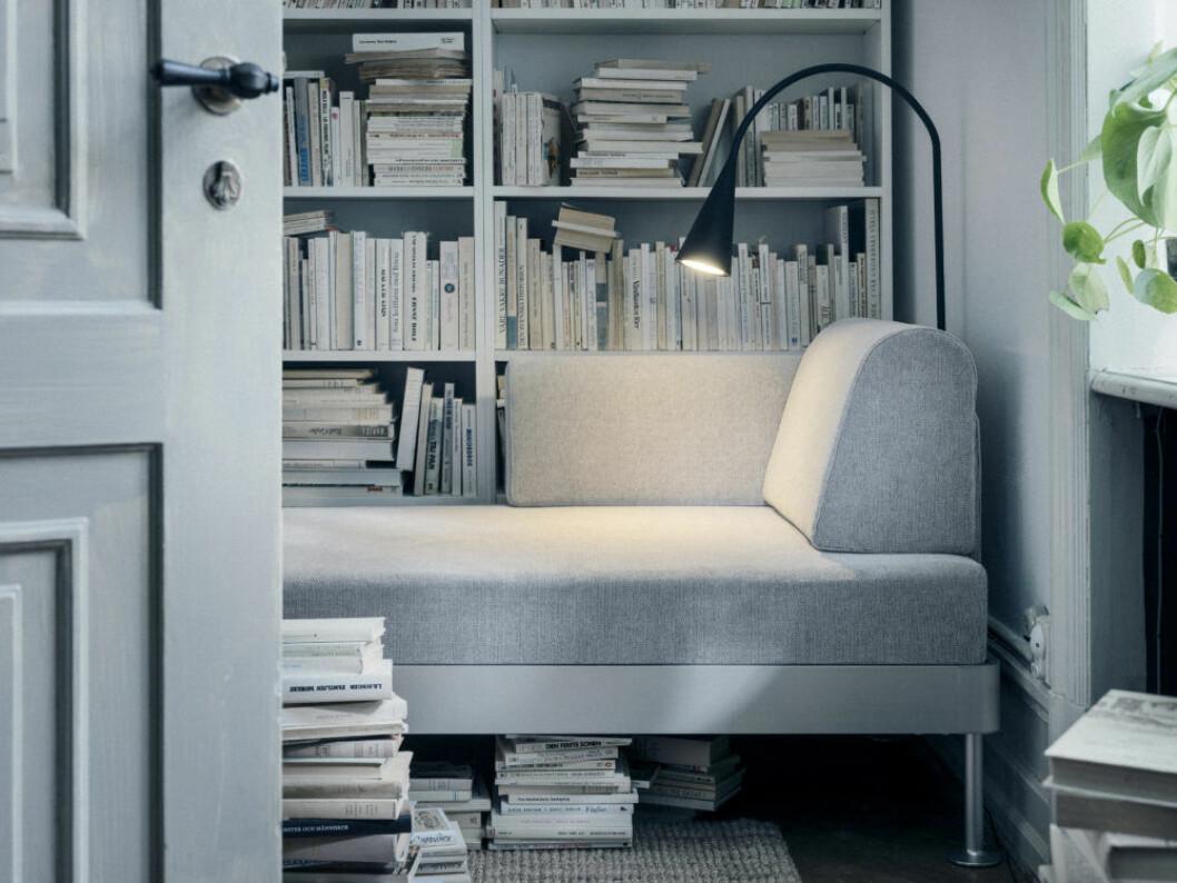 Funktionell läslampa ur Ikeas kollektion Delaktig, design Tom Dixon