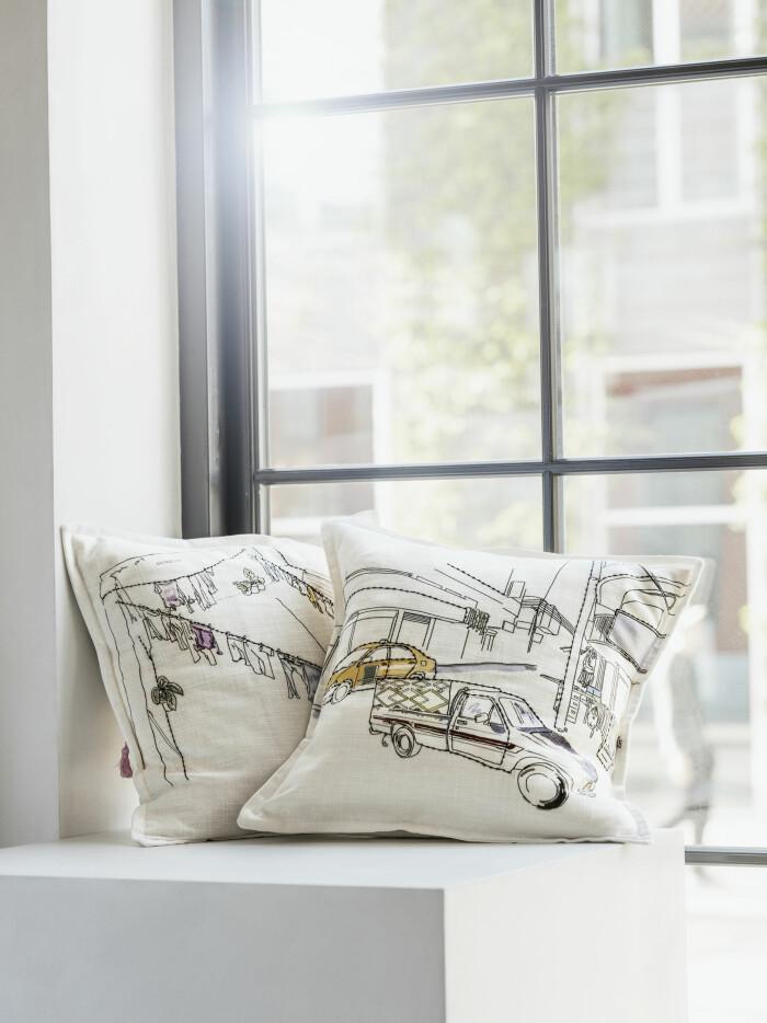 Ikea nya kollektion Lokalt kuddar