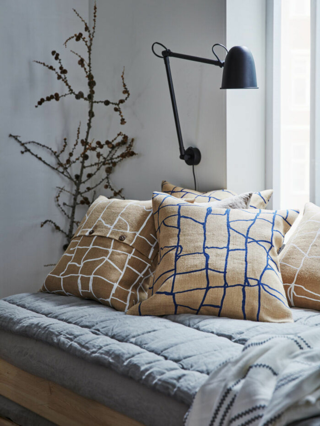 Kuddfodral fån Ikeas nya vinterkollektion 2019