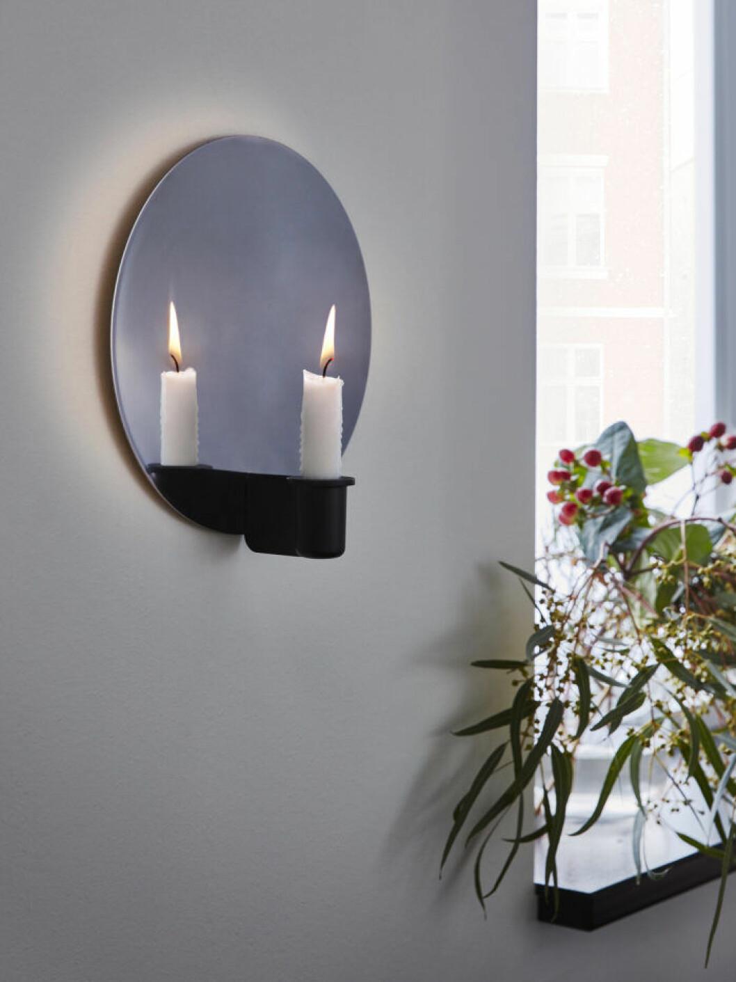 Ljuslampett med spegelglas från Ikea 2019
