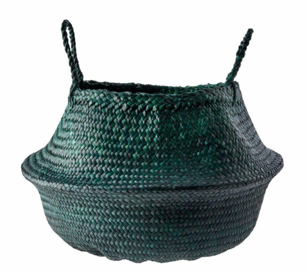 Grön korg från Ilva