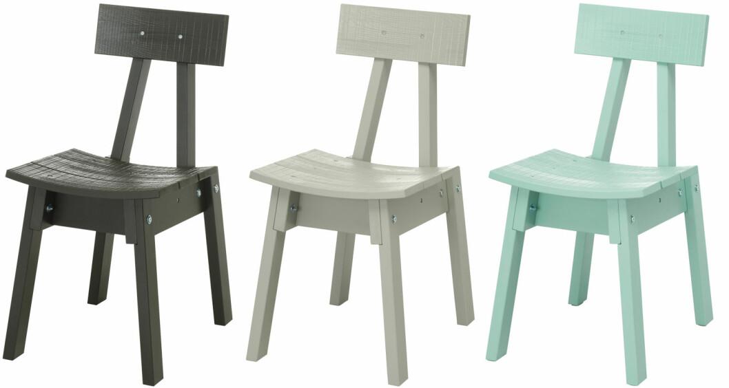 Furustolar från Ikea