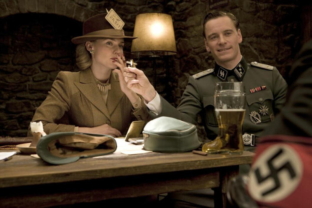 En bild från filmen Inglorious Basterds på HBO.
