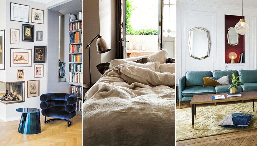 Så inreder du hemmet med en fransk stil.