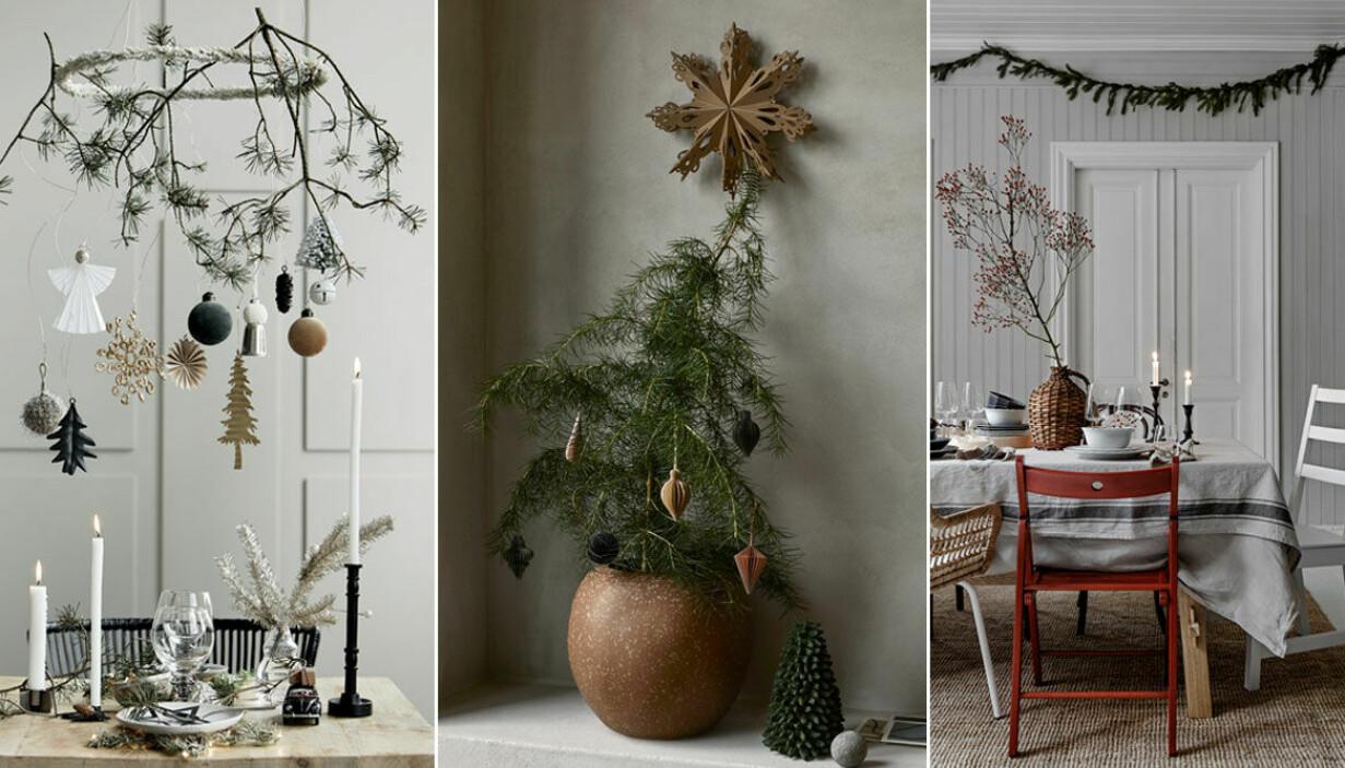 Inred med jul enkla jultrender och tips på julinredning som du inte får missa