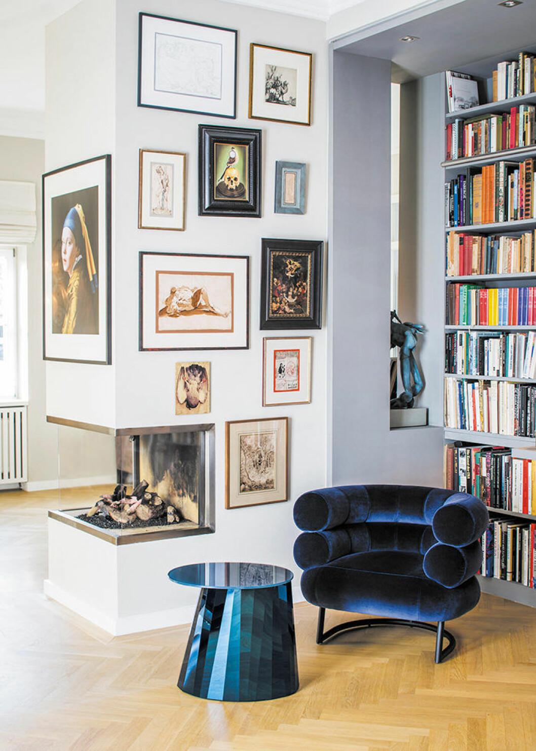 Fokusera på konsten i hemmet.