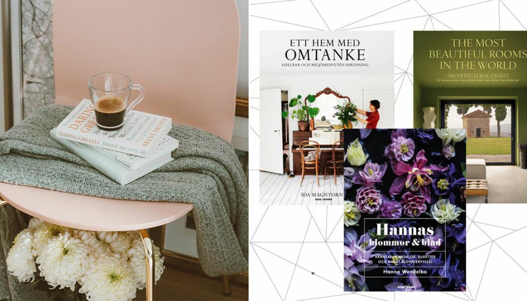 inredningsböcker och coffee table-böcker