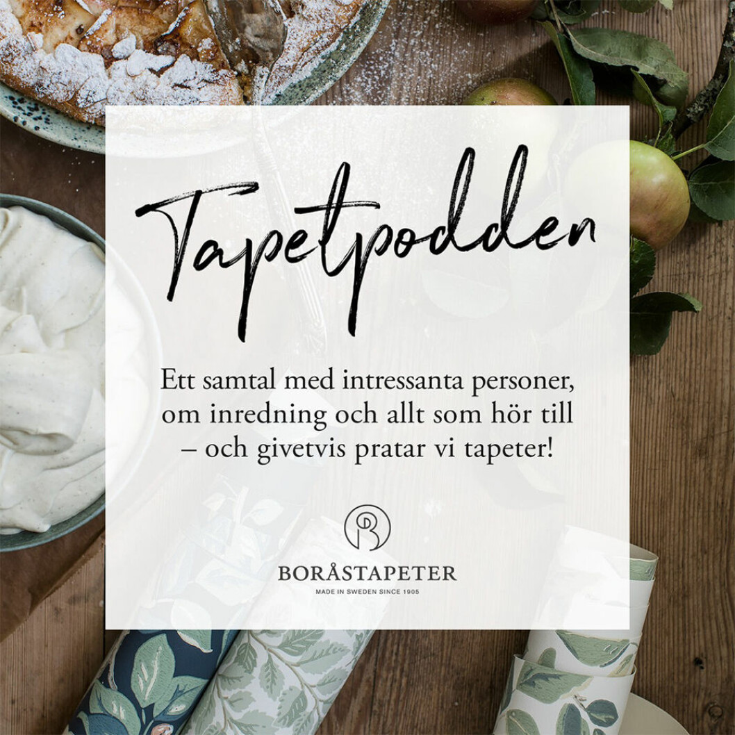Tapetpodden från Boråstapeter