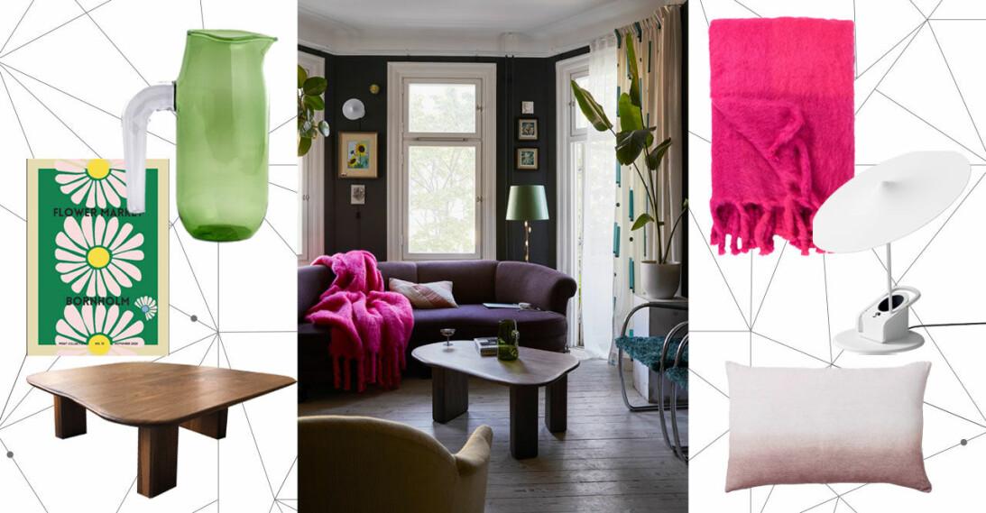 Så inreder du yteffektivt i vardagsrummet, smarta compact living tips