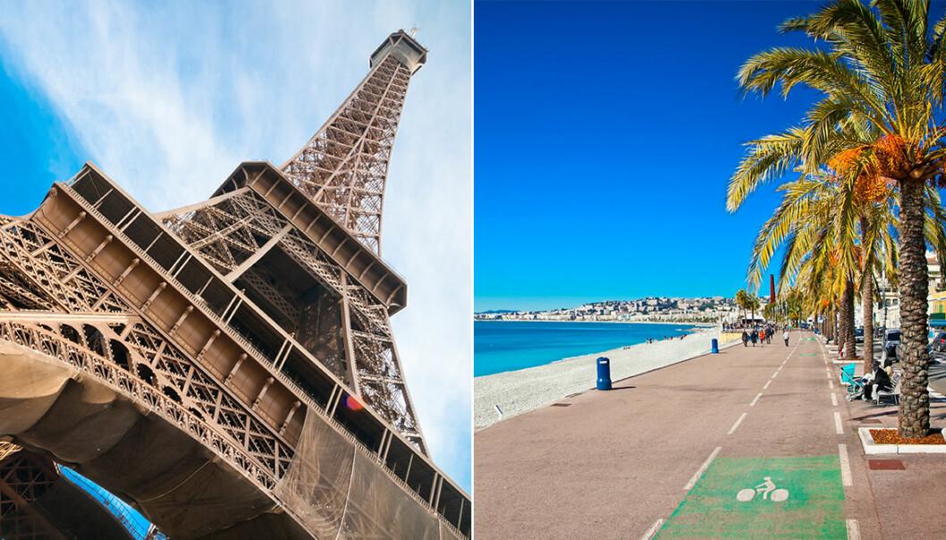London och Paris, populära platser i Europa