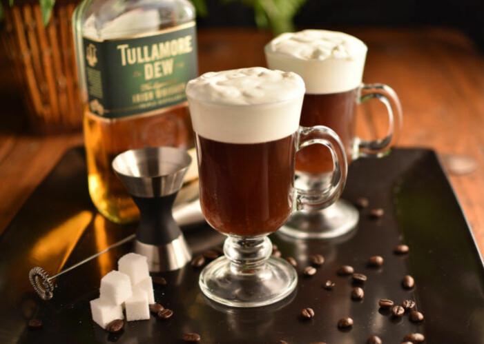 Recept på klassisk irish coffee